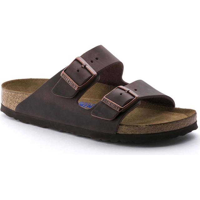 Birkenstock Arizona Soft Footbed Oiled Nubuck Leather - Habana
