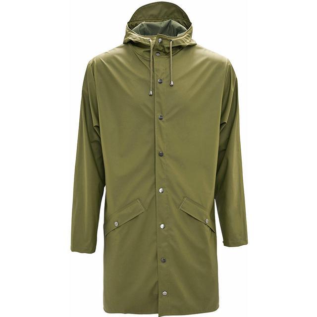 Rains Long Jacket Unisex - Sage