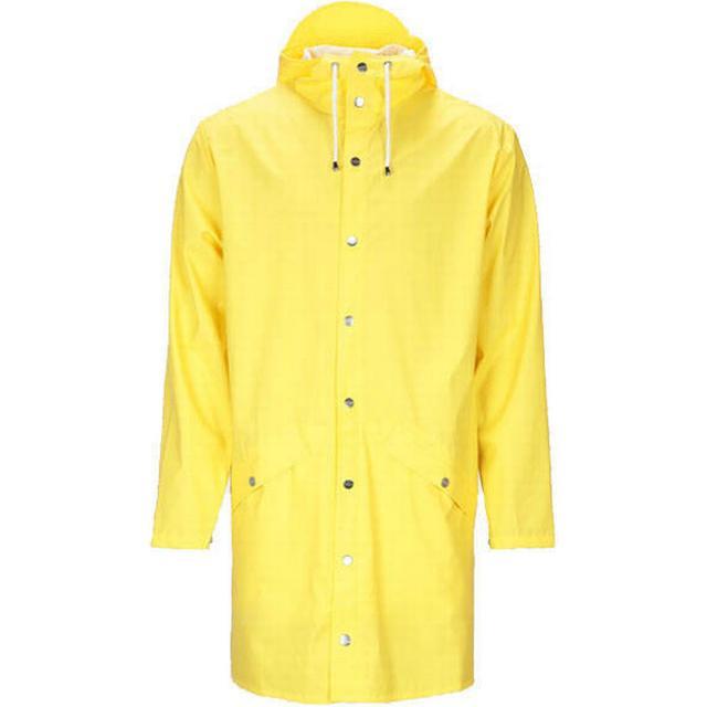 Rains Long Jacket Unisex - Yellow