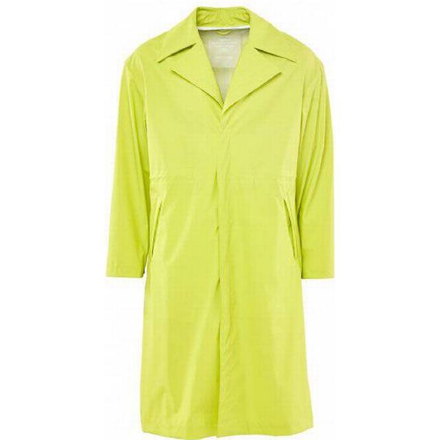 Rains Ltd. Curve Coat Unisex - Neon Yellow