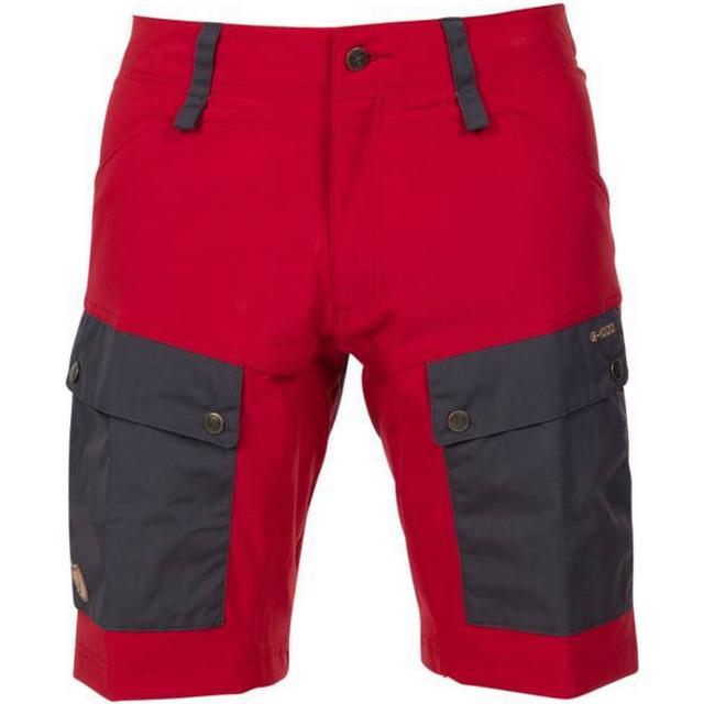 Fjällräven Keb Shorts - Stone Grey-Lava