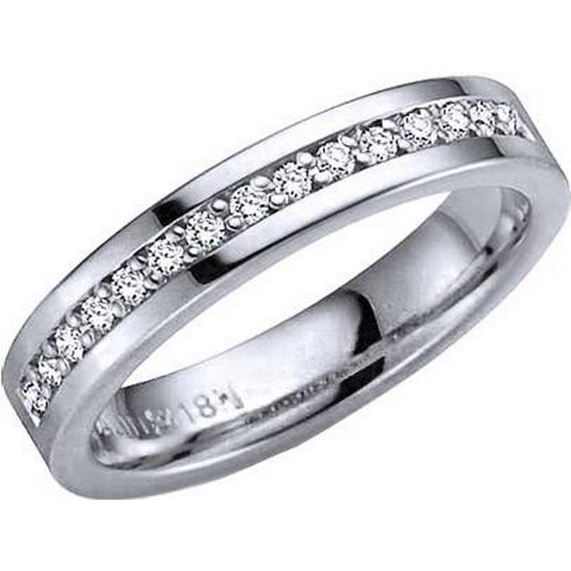 Schalins Norrsken Aura White Gold Ring w. Diamond