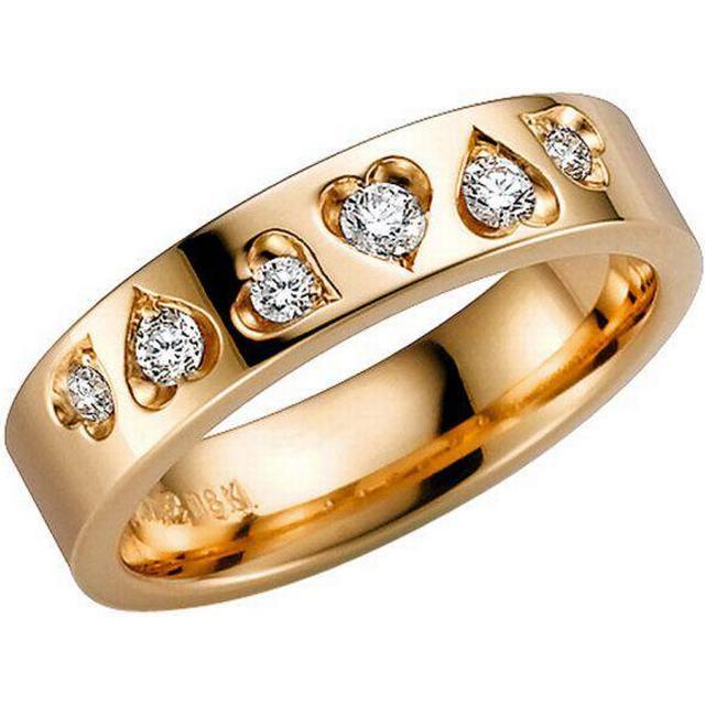 Schalins Norrsken Skimra Gold Ring w. Diamond