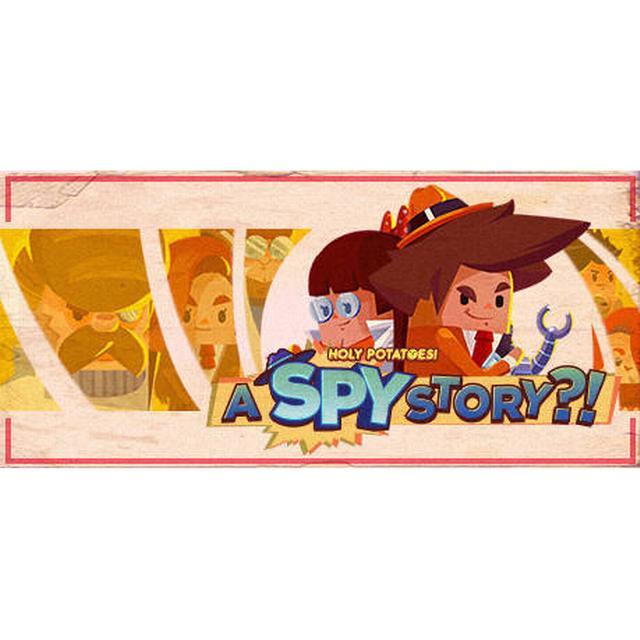Holy Potatoes!: A Spy Story?!