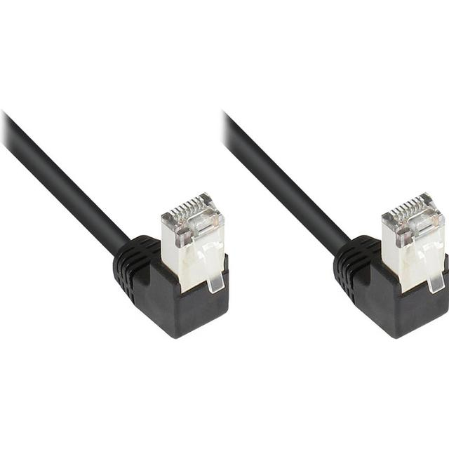Good Angled RJ45-RJ45 F/UTP Cat5e 2m