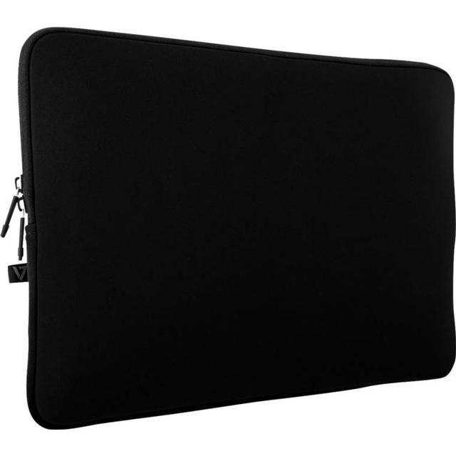 "V7 Neoprene Water-resistant Laptop Sleeve Case 12"" - Black"