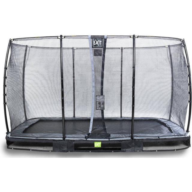 Exit Elegant Trampoline 214x366cm + Safety Net