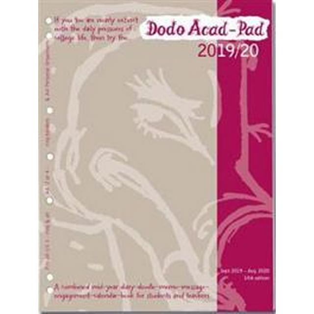 Dodo Acad-Pad 2019-2020 Filofax-Compatible A4 Organiser Diary (2/3/4 Ring/US Letter Size) Refill, Mid-Year / Academic, Week to View (Övrigt format, 2019)