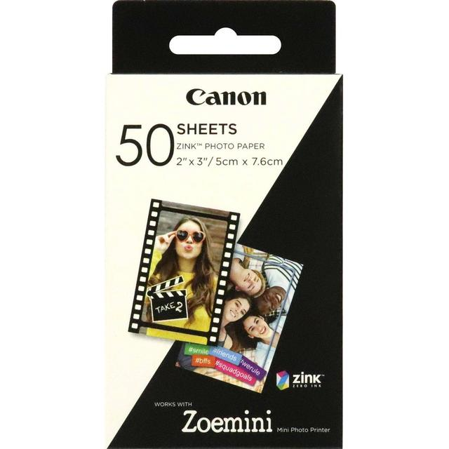 Canon Zink Photo Paper 50 Sheets