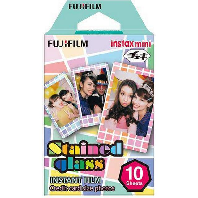 Fujifilm Instax Mini Film Stained Glass 10 pack