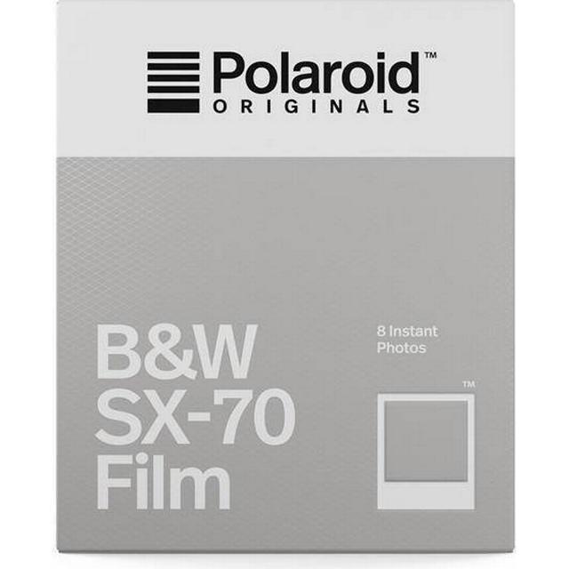 Polaroid B&W Film for SX-70 8 pack