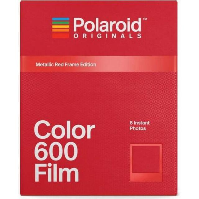 Polaroid Color Film for 600 Metallic Red Frame Edition 8 pack