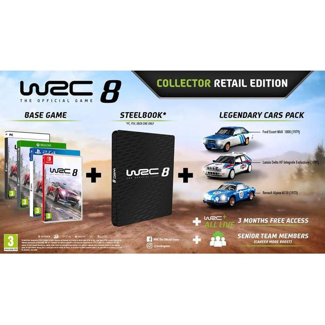 WRC 8 - Collector's Edition