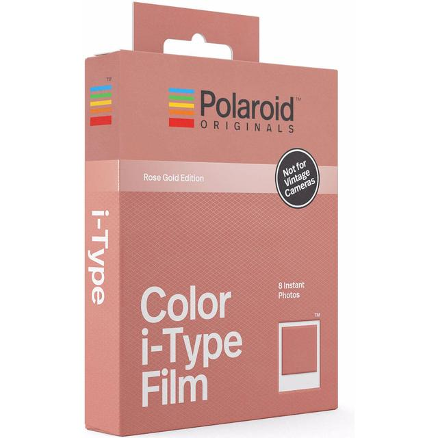 Polaroid Color i-Type Film Rose Gold Frame Edition 8 pack
