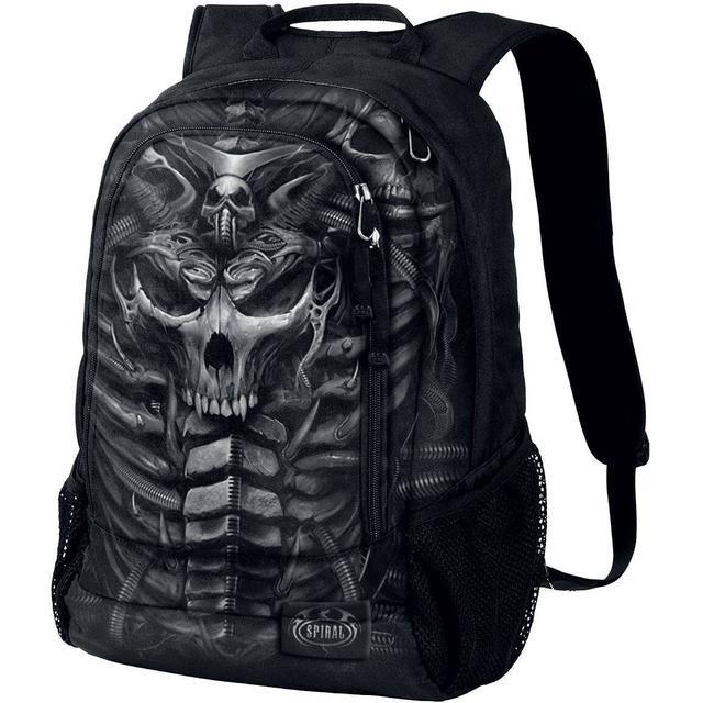 Spiral Skull Armor - Black