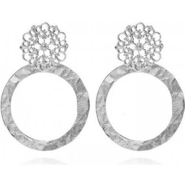 Caroline Svedbom Andriana Rhodium Earrings