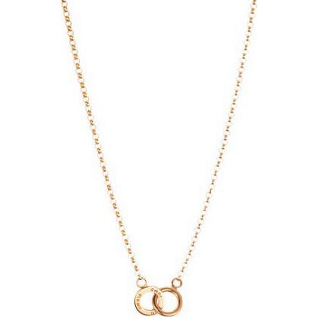 Efva Attling Mini Twosome Gold Necklace (10-101-00565-4245)