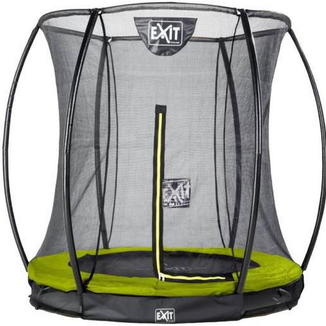 Exit Silhouette Ground Trampoline 273cm + Safety Net