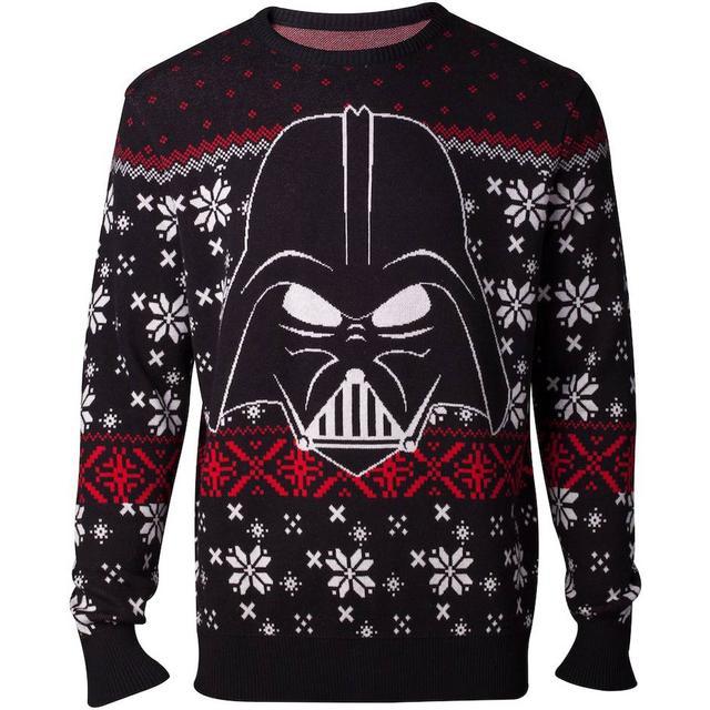 Numskull Star Wars Darth Vader Christmas Sweater Unisex - Black