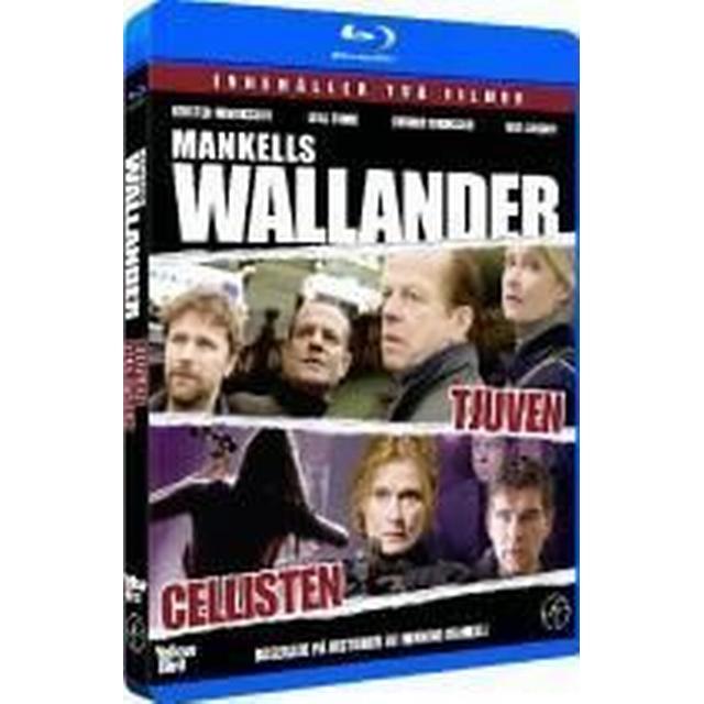 Wallander 17 & 18 Tjuven / Cellisten (Blu-Ray)