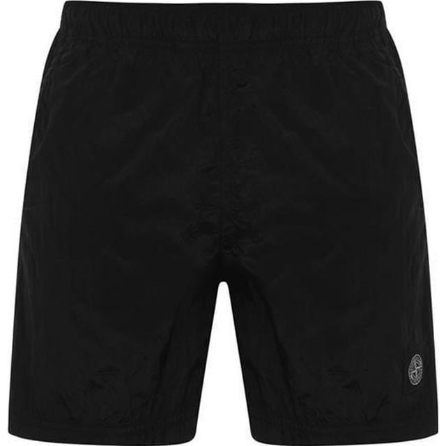 Stone Island Nylon Swim Shorts - Black V0029
