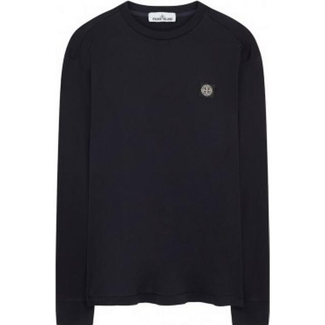Stone Island Long Sleeved T-shirt - Black