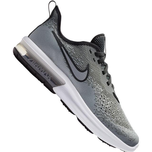 Nike Air Max Sequent 4 GS Wolf GreyAnthraciteWhiteWolf Grey
