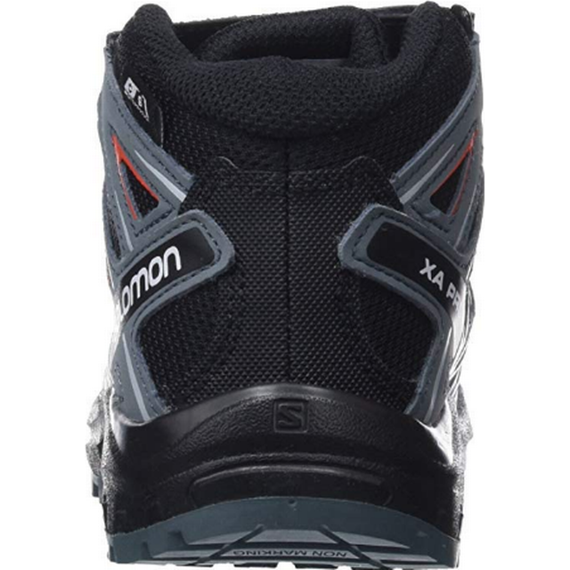 Salomon XA Pro 3D Mid CSWP K BlackStormy WeatherCherry Tomato