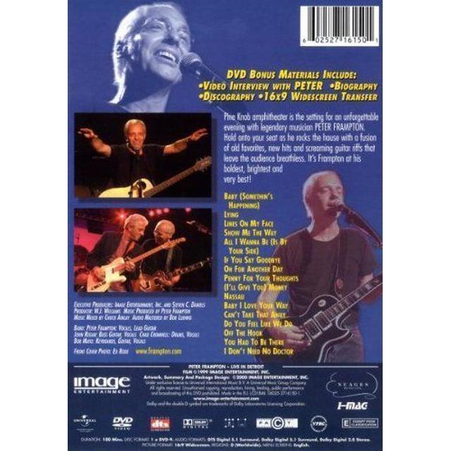 Live In Detroit (DVD)