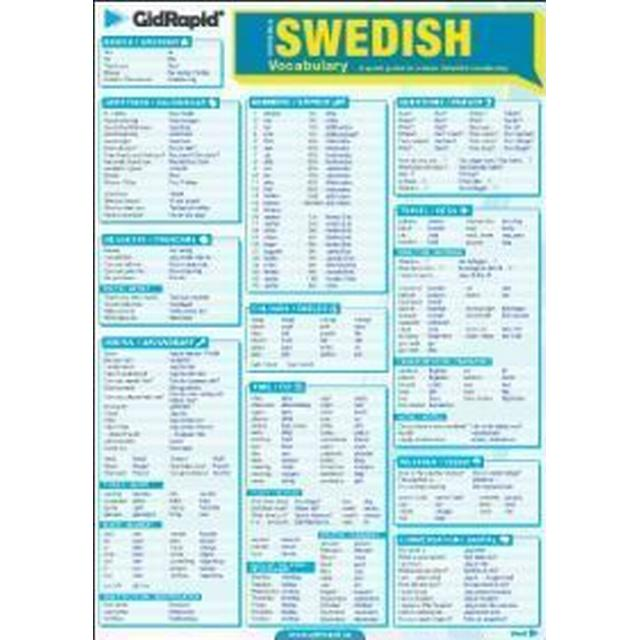 Swedish vocabulary - A quick guide to a basic Swedish vocabulary (Övrigt format, 2011)