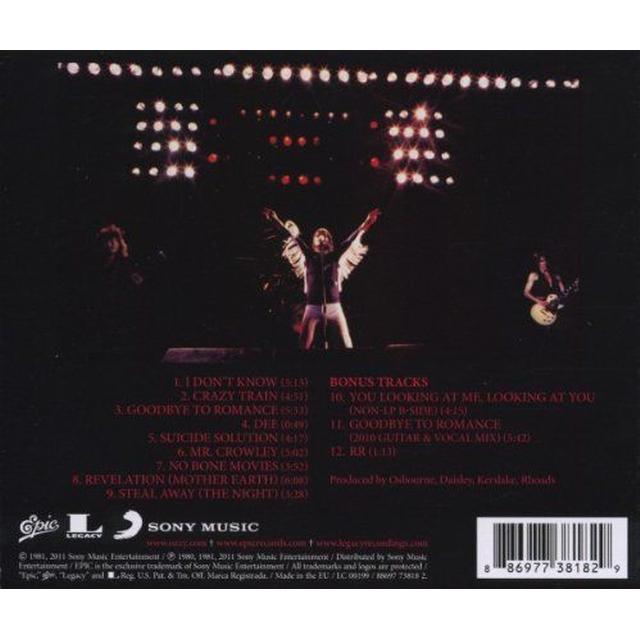 Ozzy Osbourne - Blizzard Of Ozz (Remastered