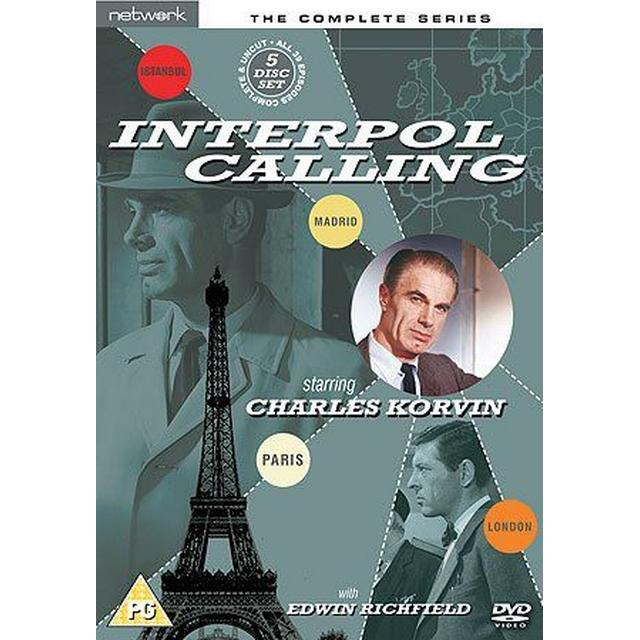 Interpol Calling - The Complete Series (DVD)