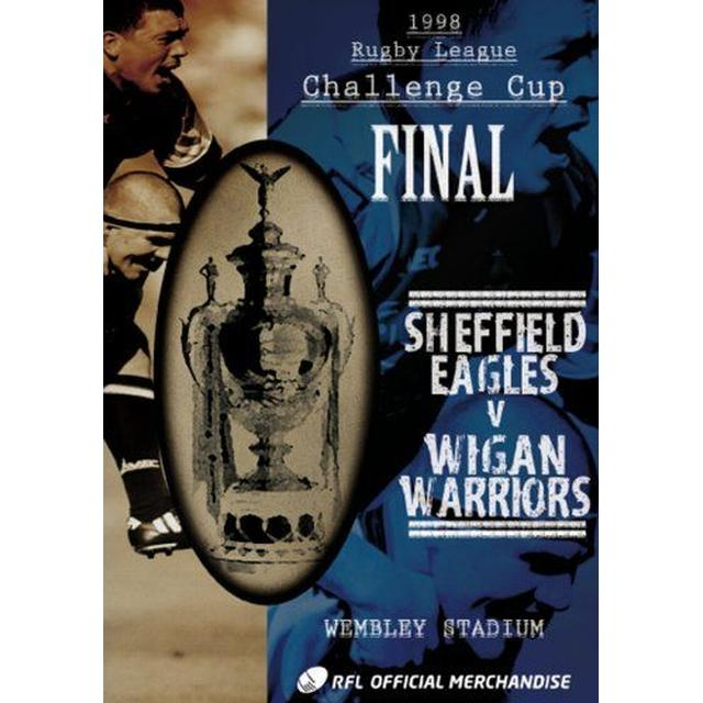 1998 Challenge Cup Final - Sheffield Eagles 17 Wigan Warrior (DVD)