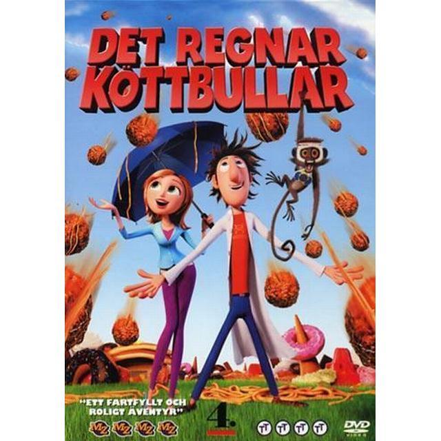 Det Regnar Köttbullar (DVD)
