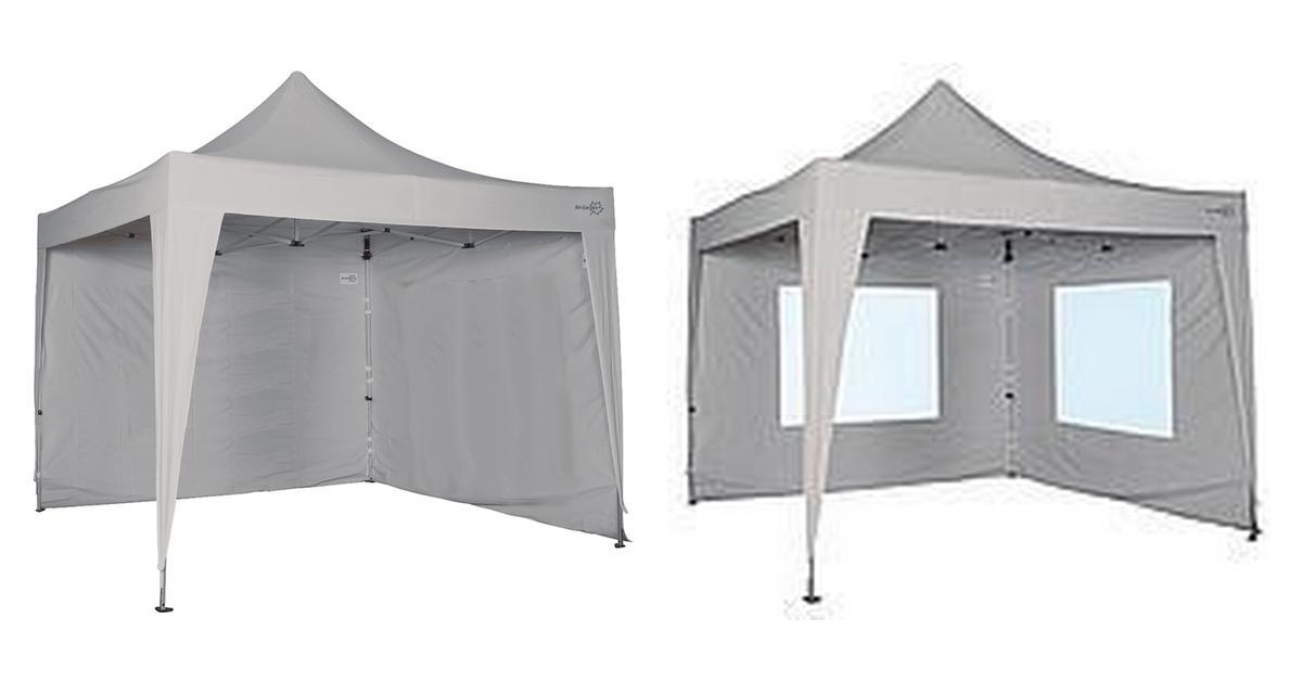 Bästa vidaXL Hopfällbart tält med 3 väggar 3x4,5 m blå