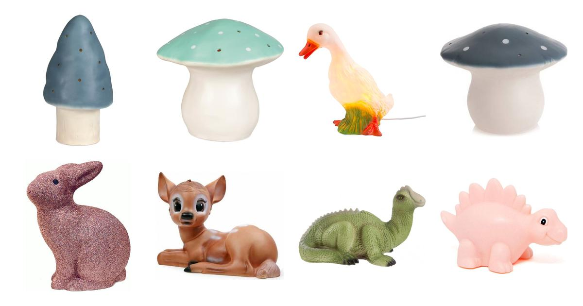 Heico Rabbit Lamp Gilter Nattlampa • Se priser (3 butiker) »