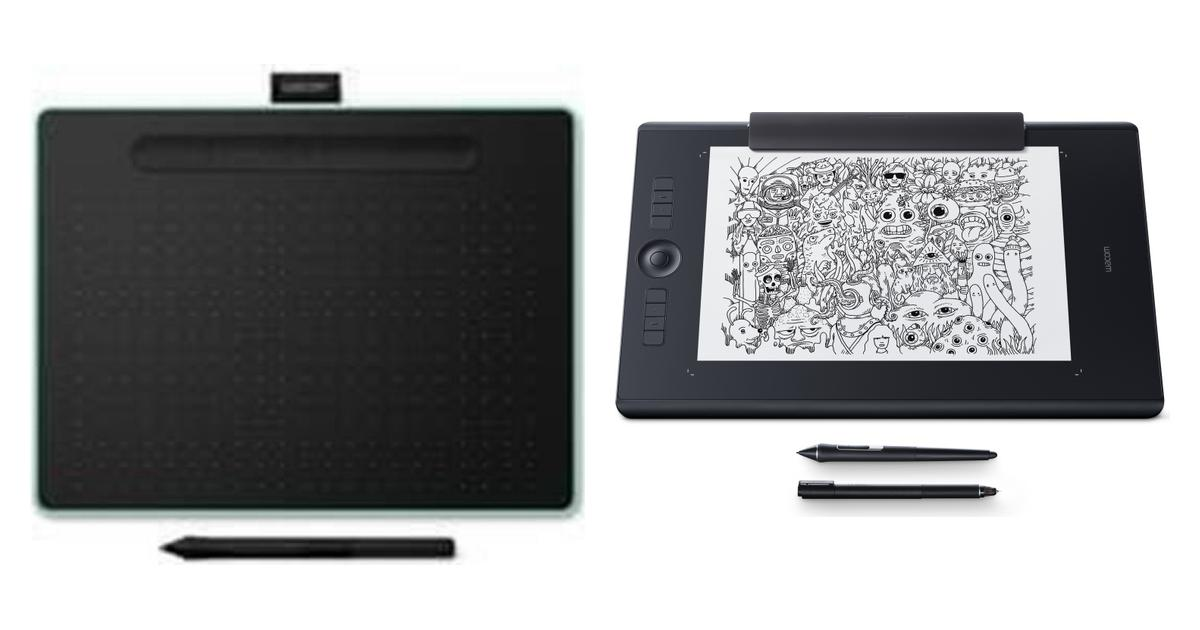 Broonel Luxury Leather Graphics Tablet Case with Built-in Ergonomic Stand Compatible with The Wacom MobileStudio Pro 13