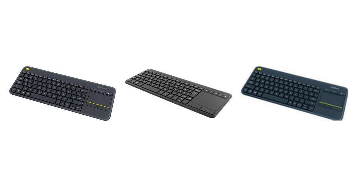 Trådlöst tangentbord med touchpad • Hitta lägsta pris hos