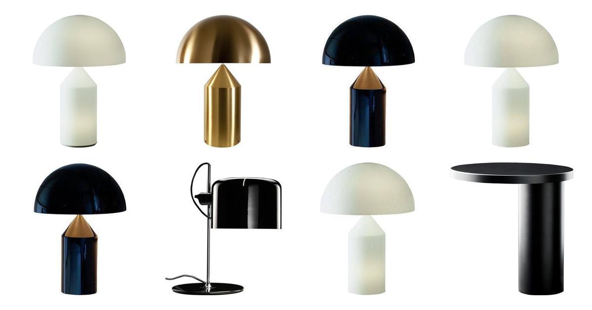 Oluce Bordslampor (49 produkter) hos PriceRunner • Se priser