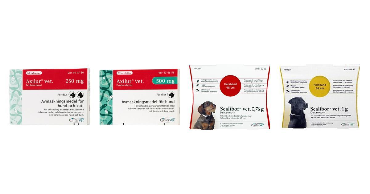 Intervet Husdjur (14 produkter) hos PriceRunner • Se priser nu »